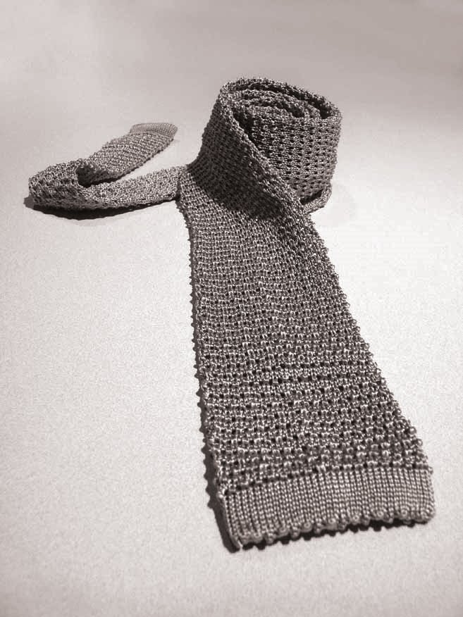 The Knitted Silk Tie The Suits Of James Bond