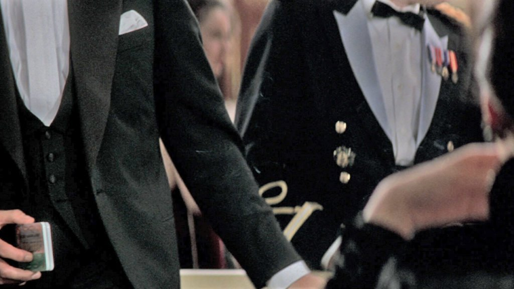 Details of the waistcoat