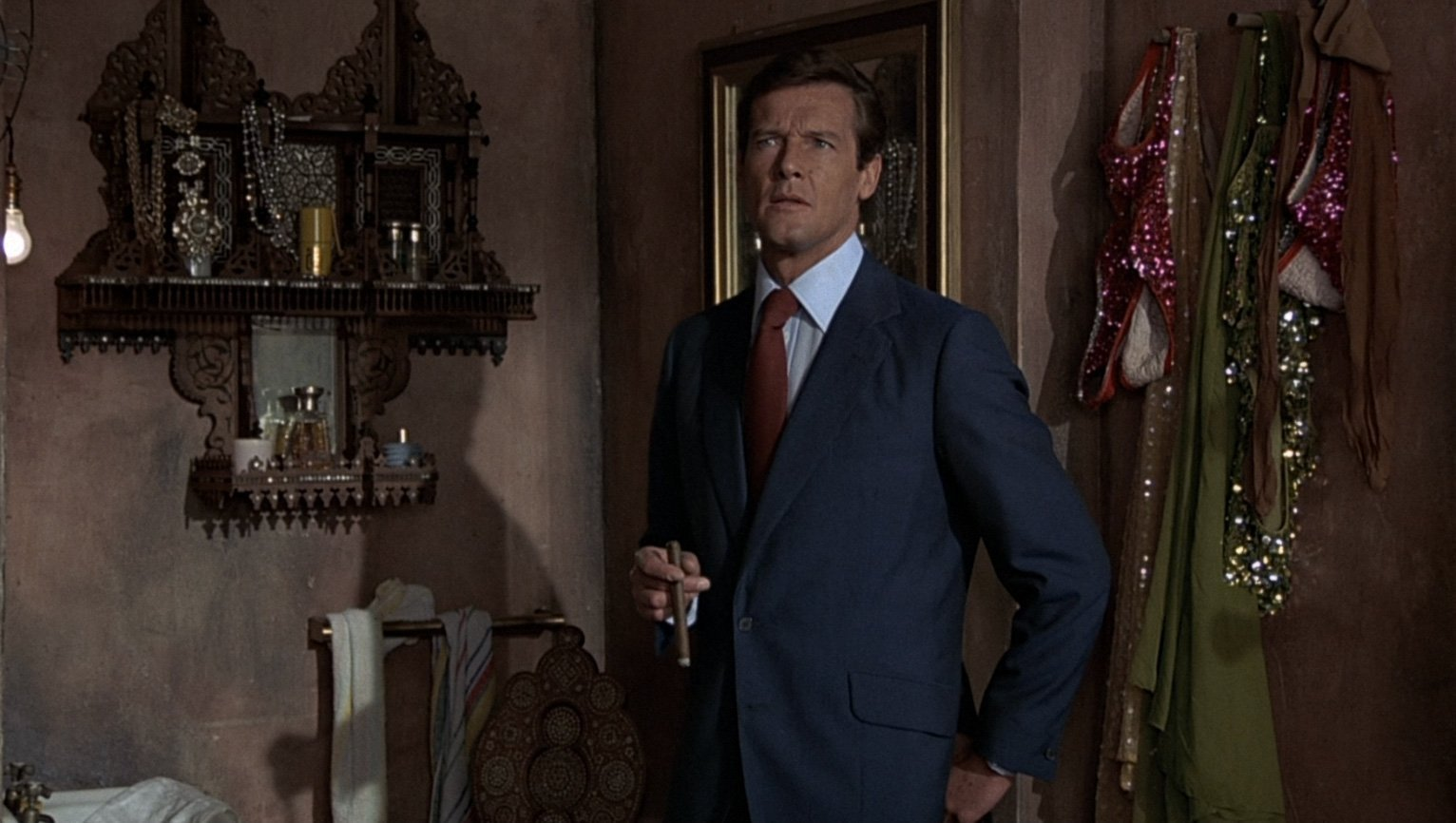 The Marine Blue Suit in Beirut in Man with the Golden Gun – The
