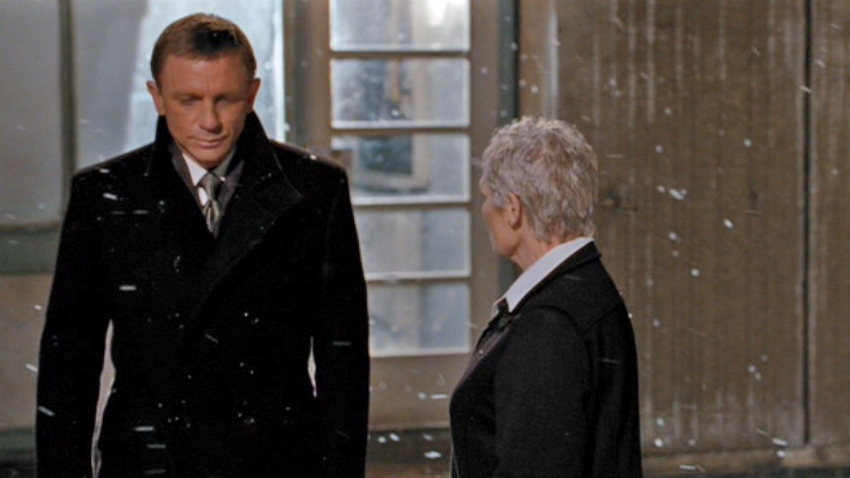 ebe11e057f Outerwear in Kazan  A Black Greatcoat in Quantum of Solace – The ...