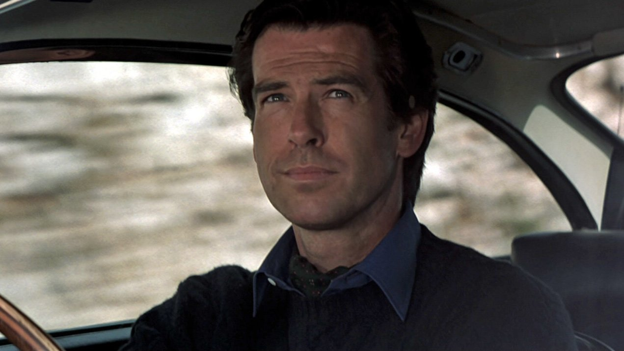 A Navy Cable Knit Jumper And Day Cravat In Goldeneye The