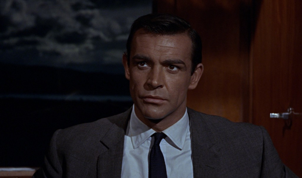 Sean Connery's four-in-hand knot