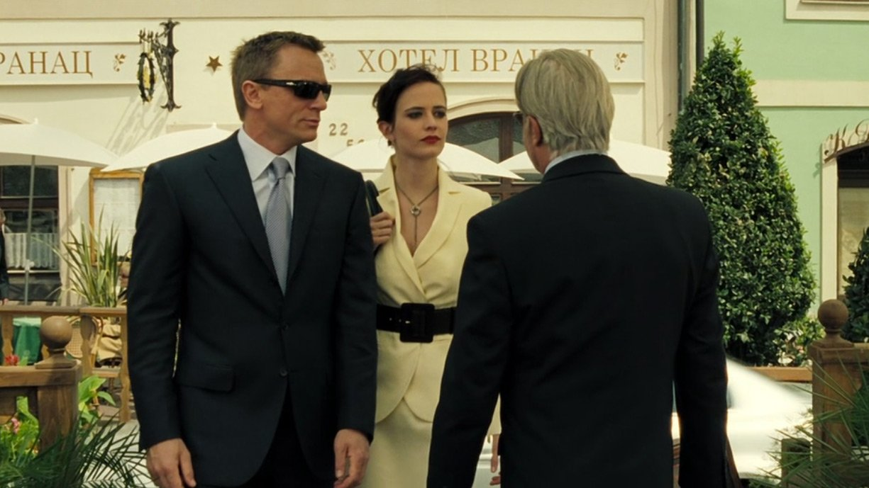 The Charcoal Blue Suit In Casino Royale The Suits Of James