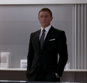 Quantum of Solace: Dark Charcoal Suit 2