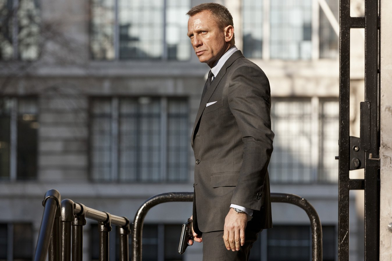 Introducing Skyfall The Suits Of James Bond