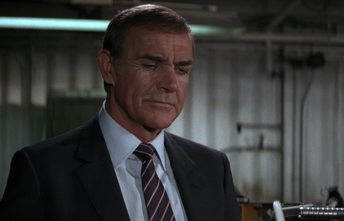 behind the scenes, Amidst the filming of Never Say Never Again (1983), Sean Connery's wrist broke because of an instructor.