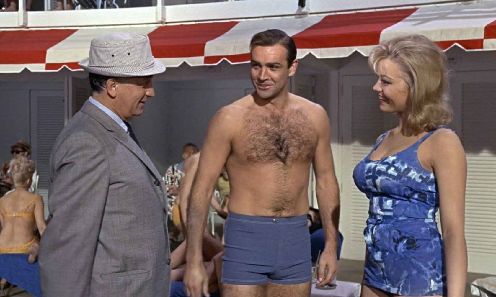 The Infamous Terrycloth Playsuit In Goldfinger The Suits