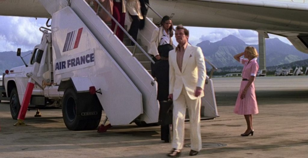 Moonraker Cream Suit
