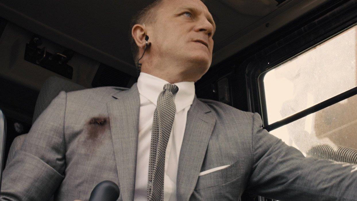 James Bond Grey Suit