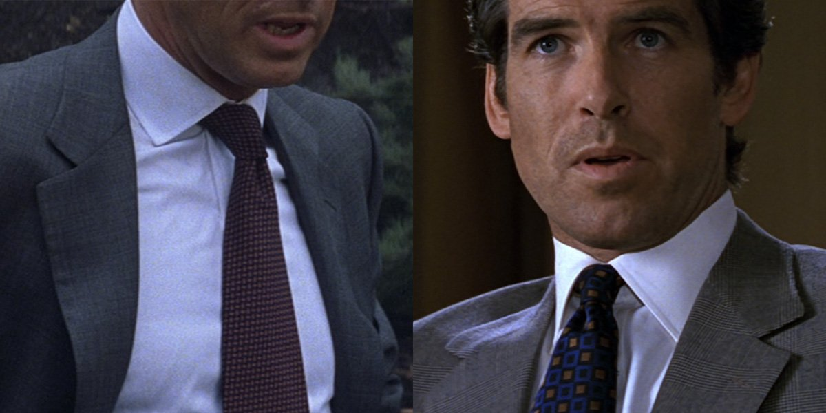 Lindy Hemming: Blue and Brown for Brosnan – The Suits of James Bond