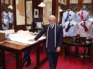 Master Shirtmaker David Gale