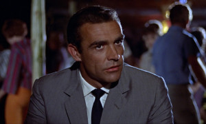 Sean Connery's Windsor knot in Dr. No