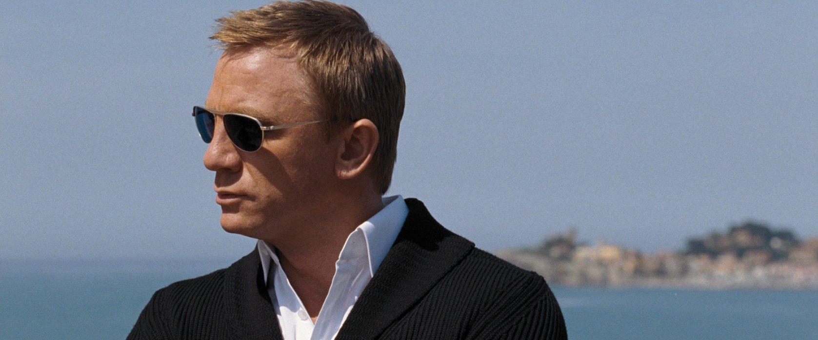 The Shawl Collar Cardigan In Quantum Of Solace Bond Suits