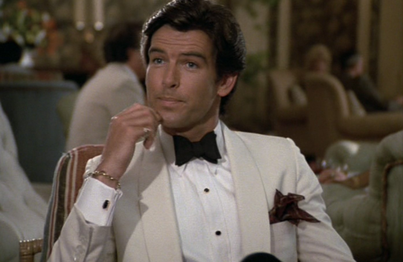 Remington Steele  White Dinner Jacket – The Suits of James Bond efecafb2837