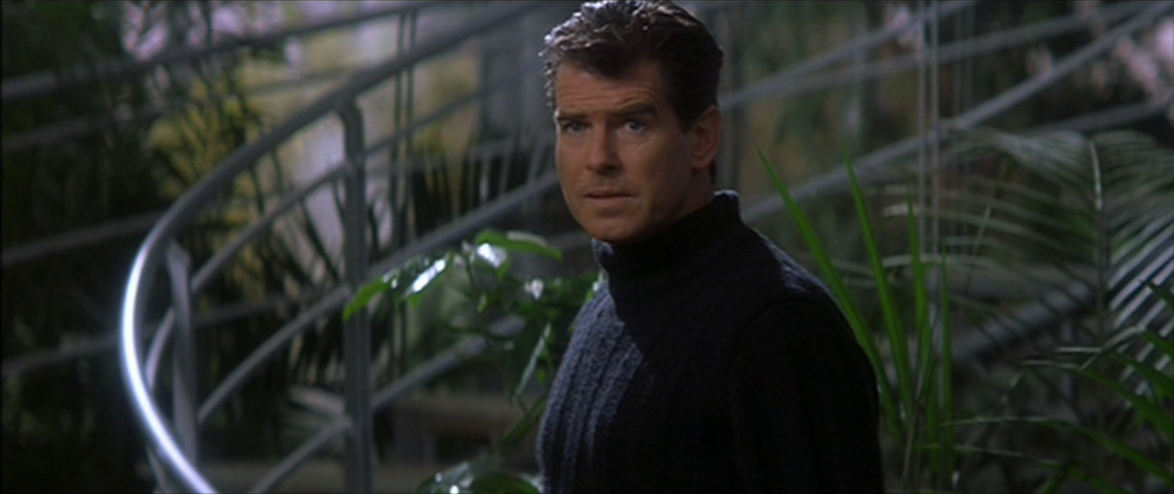 Bond's last turtleneck in Die Another Day