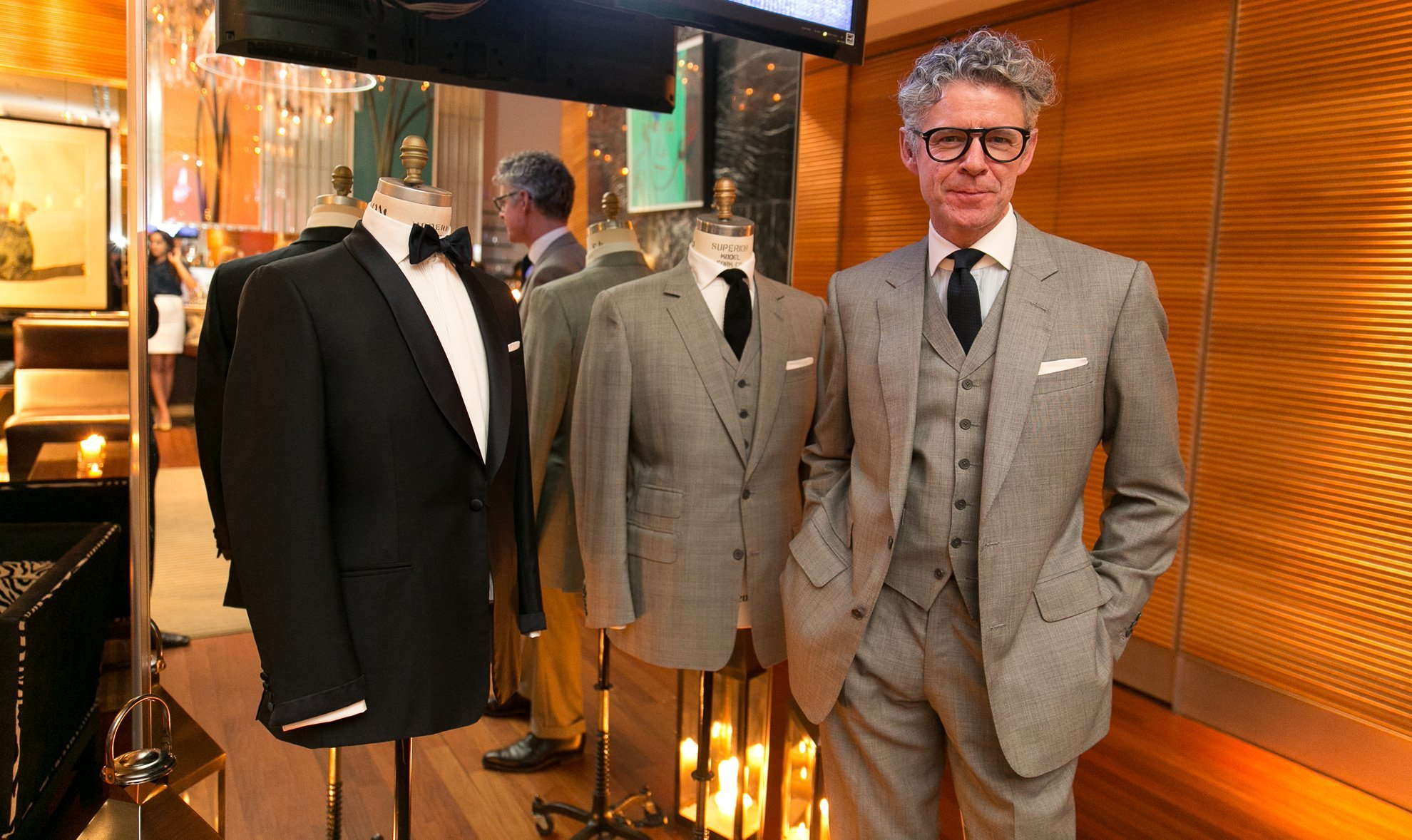 Modern Anthony Sinclair Style The Suits Of James Bond