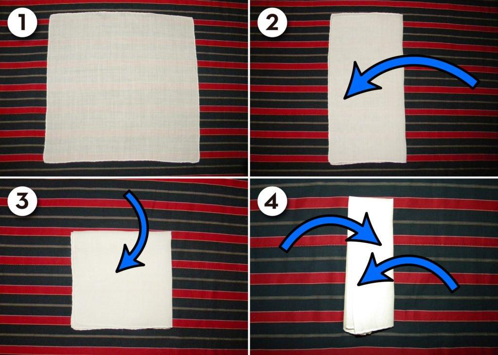 Pocket-Square-Fold