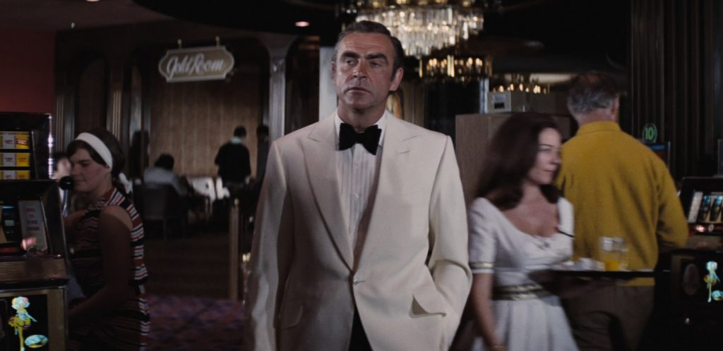 Sean Connery's ivory dinner jacket in Diamonds Are Forever
