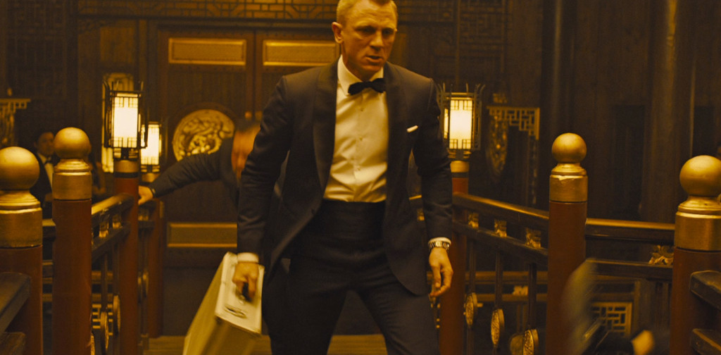 The cummerbund in Skyfall