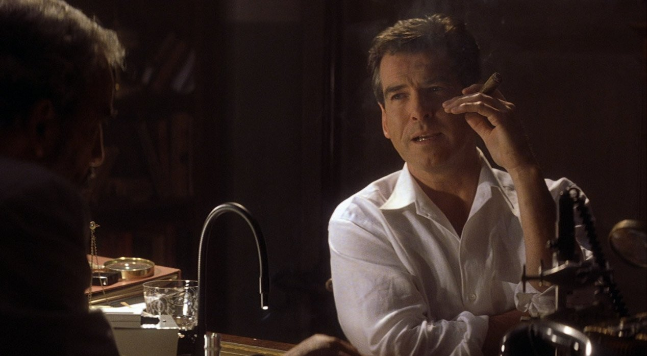The White Linen Camp Shirt In Die Another Day The Suits Of