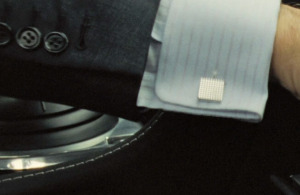 Plastic Buttons on Daniel Craig's suit in Casino Royale