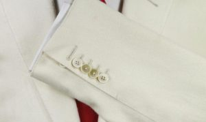 Quantum of Solace Cream Silk Suit Cuffs