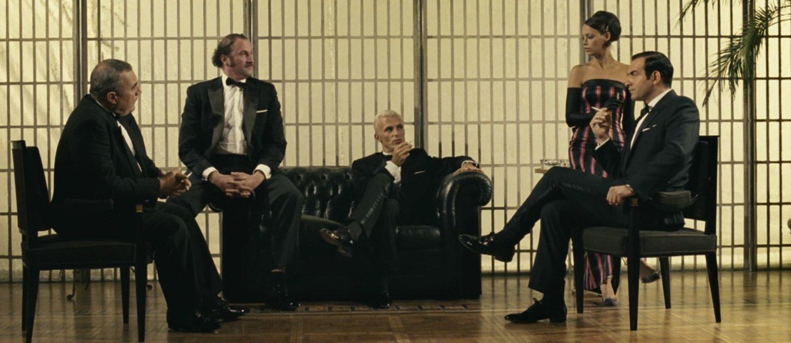 oss 117 39 s alpaca dinner suit the suits of james bond. Black Bedroom Furniture Sets. Home Design Ideas