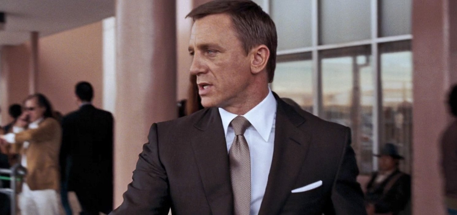 James Bond's Many Brown Suits – The Suits of James Bond
