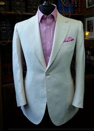 D Major Linen Suit