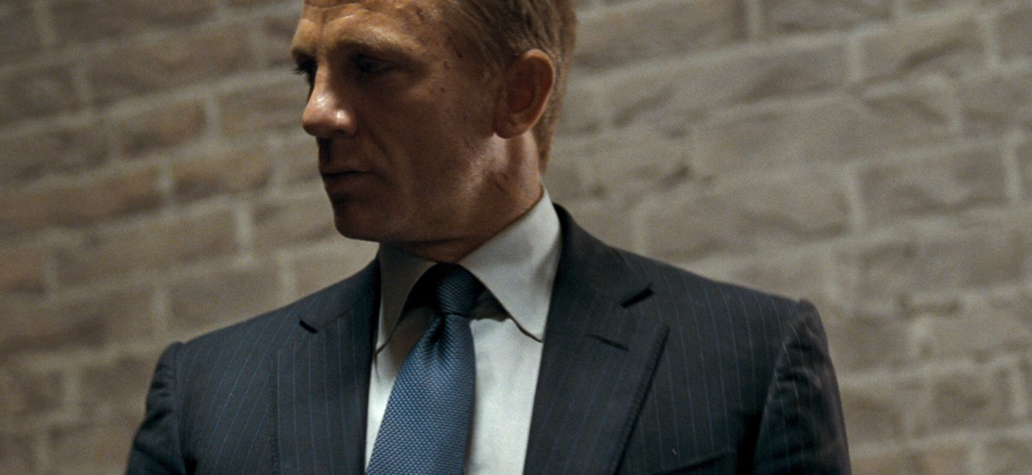 Comparing Daniel Craig's Navy Pinstripe Suits – The Suits of James ...