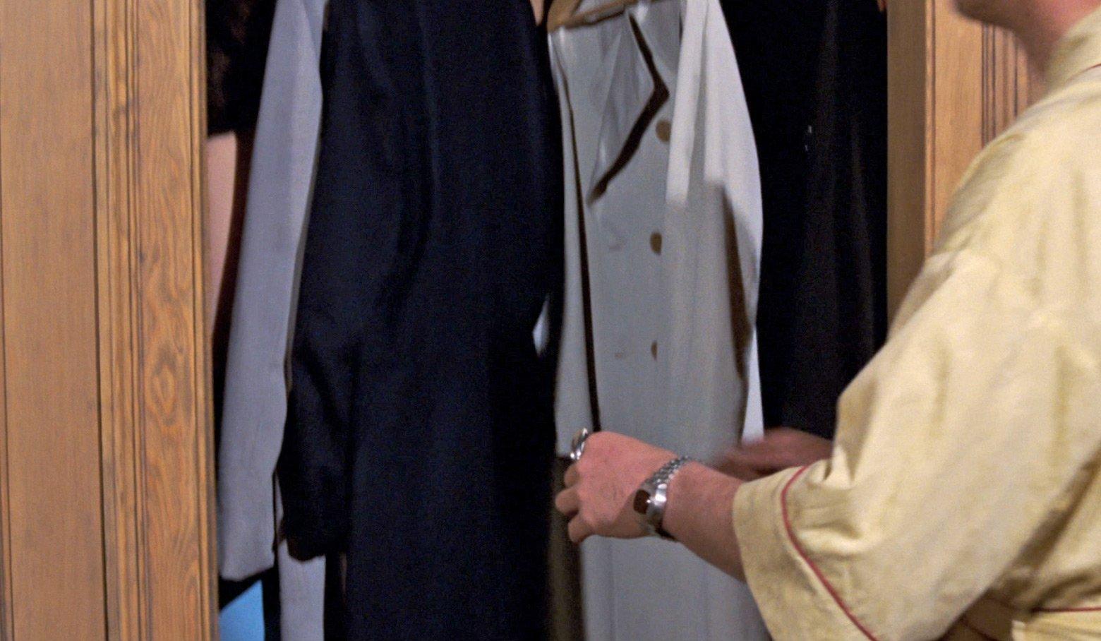 James Bond Coat Closet