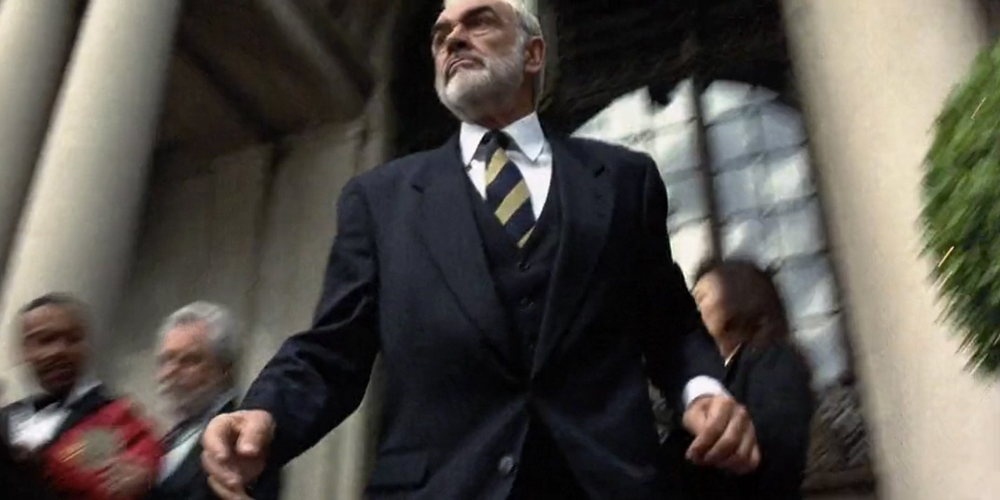 The Rock Sean Connery S Navy Three Piece Suit Bond Suits