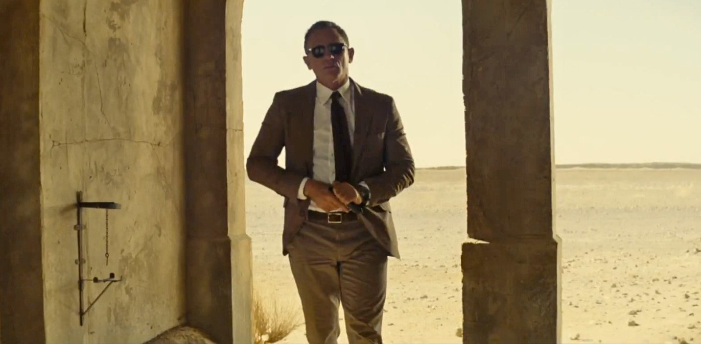 c667e0c97666 Bond in Brown Brunello Cucinelli in Spectre – The Suits of James Bond