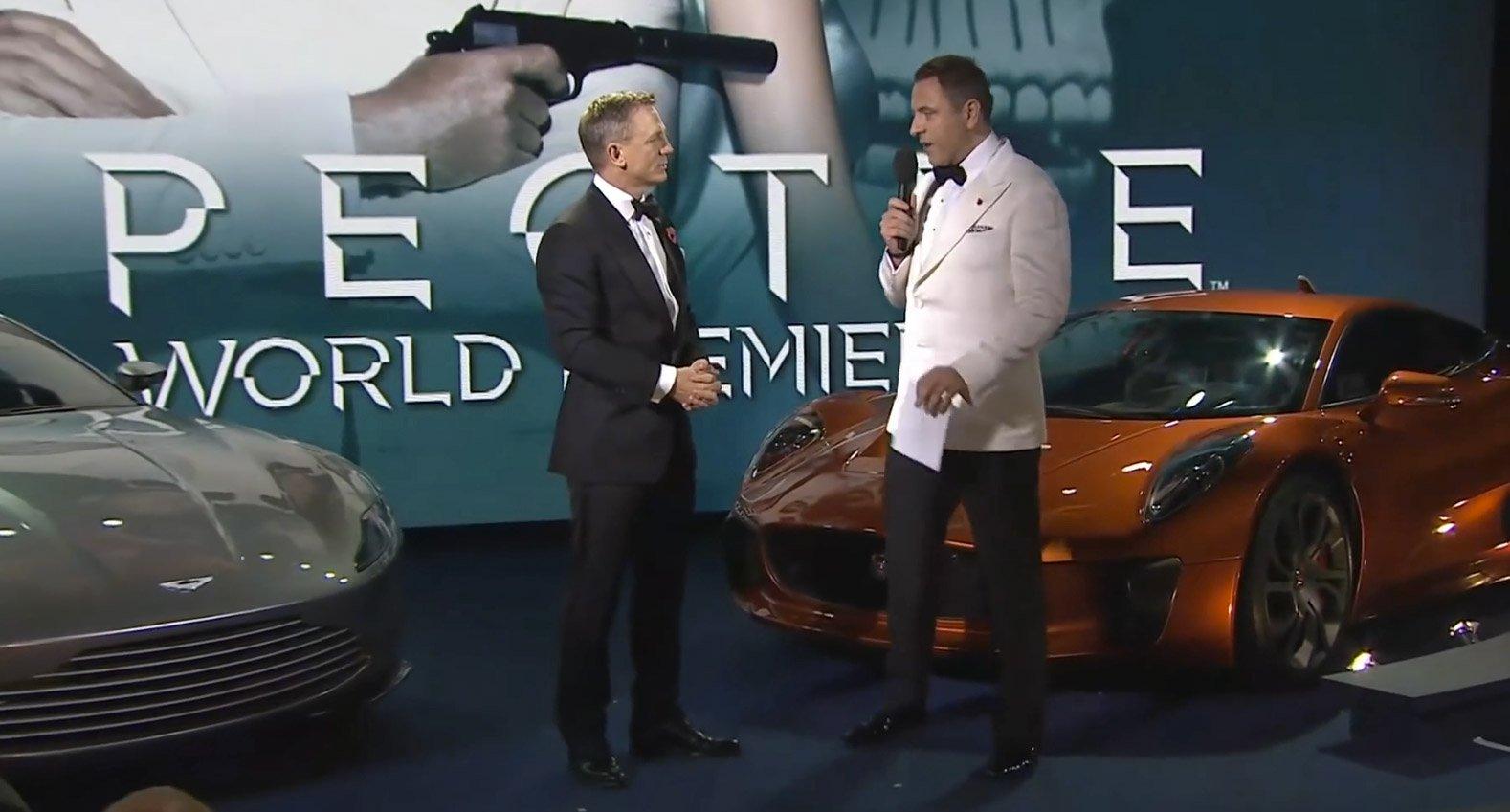 dabc27407aab Daniel Craig at the Spectre Premiere – The Suits of James Bond