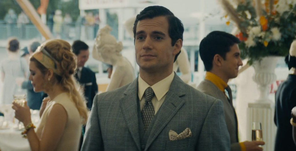 Man-from-UNCLE-Cavill-Glen-Urquhart-Check-Suit-2