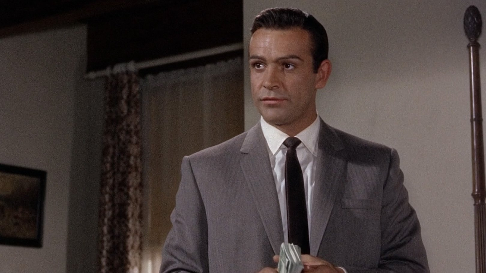 Marnie Sean Connery S Taupe Herringbone Suit Bond Suits