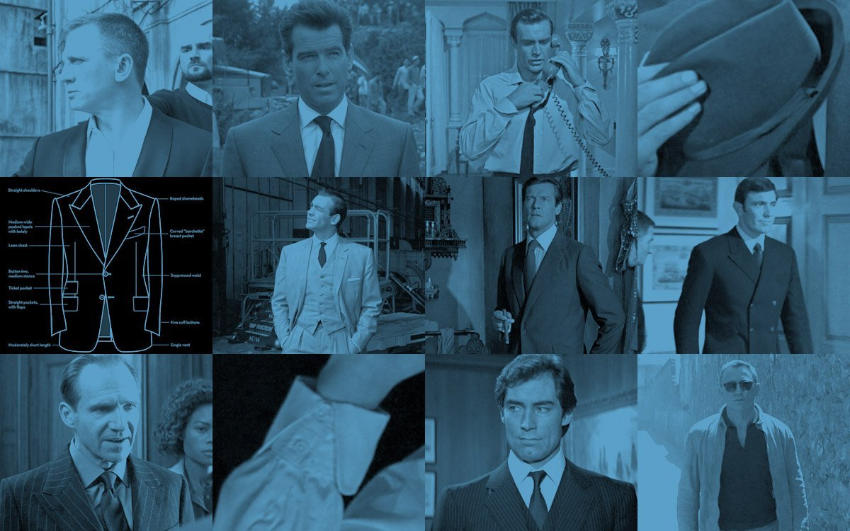 The Suits of James Bond – How to dress like Bond and beyond