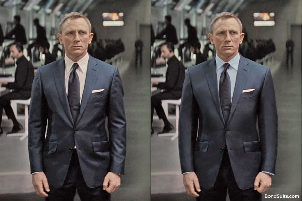 Spectre-Suit-Corrected-Fit-Blue-Shirt