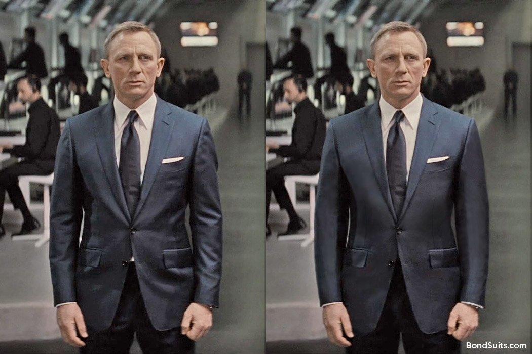 Correcting The Fit Of Daniel Craig S Suit In Spectre The