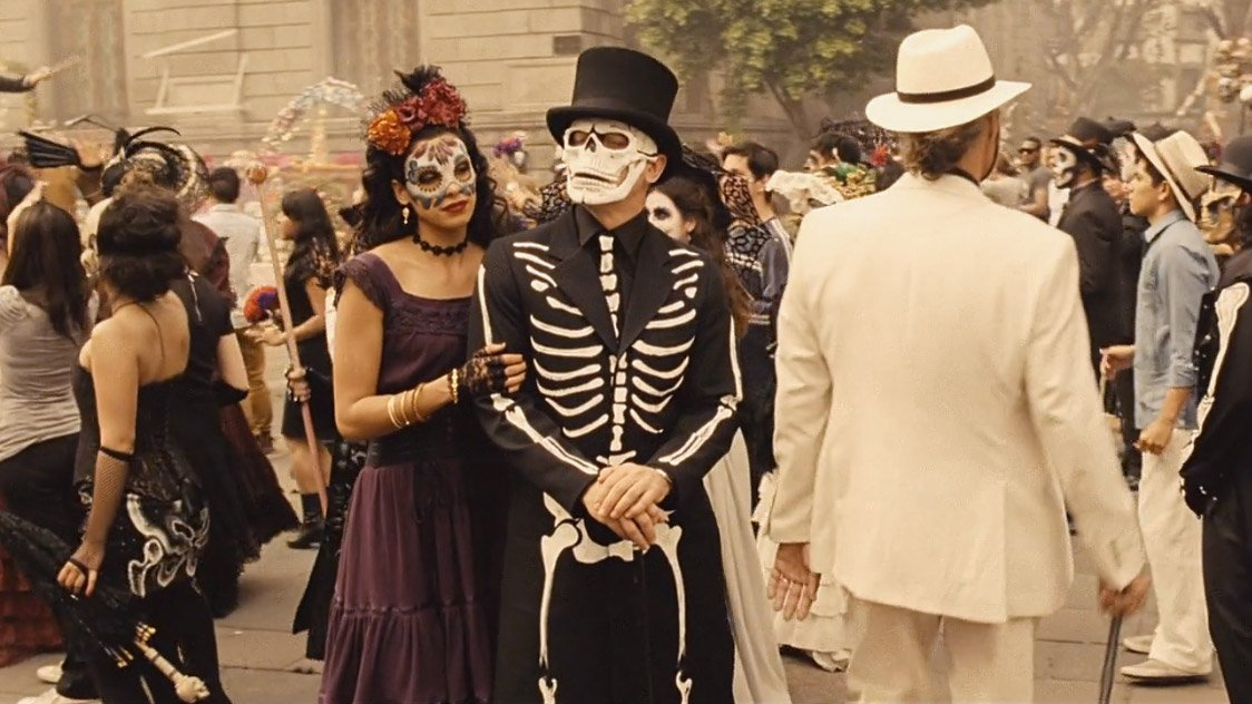 The Day Of The Dead Costume In Spectre The Suits Of James Bond