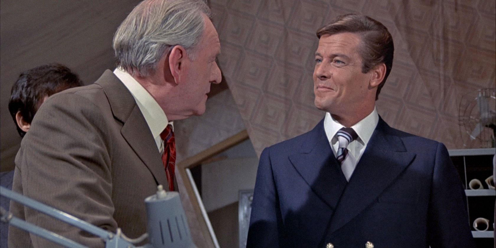 Roger Moore Blue Blazer Boss The Suits Of James Bond