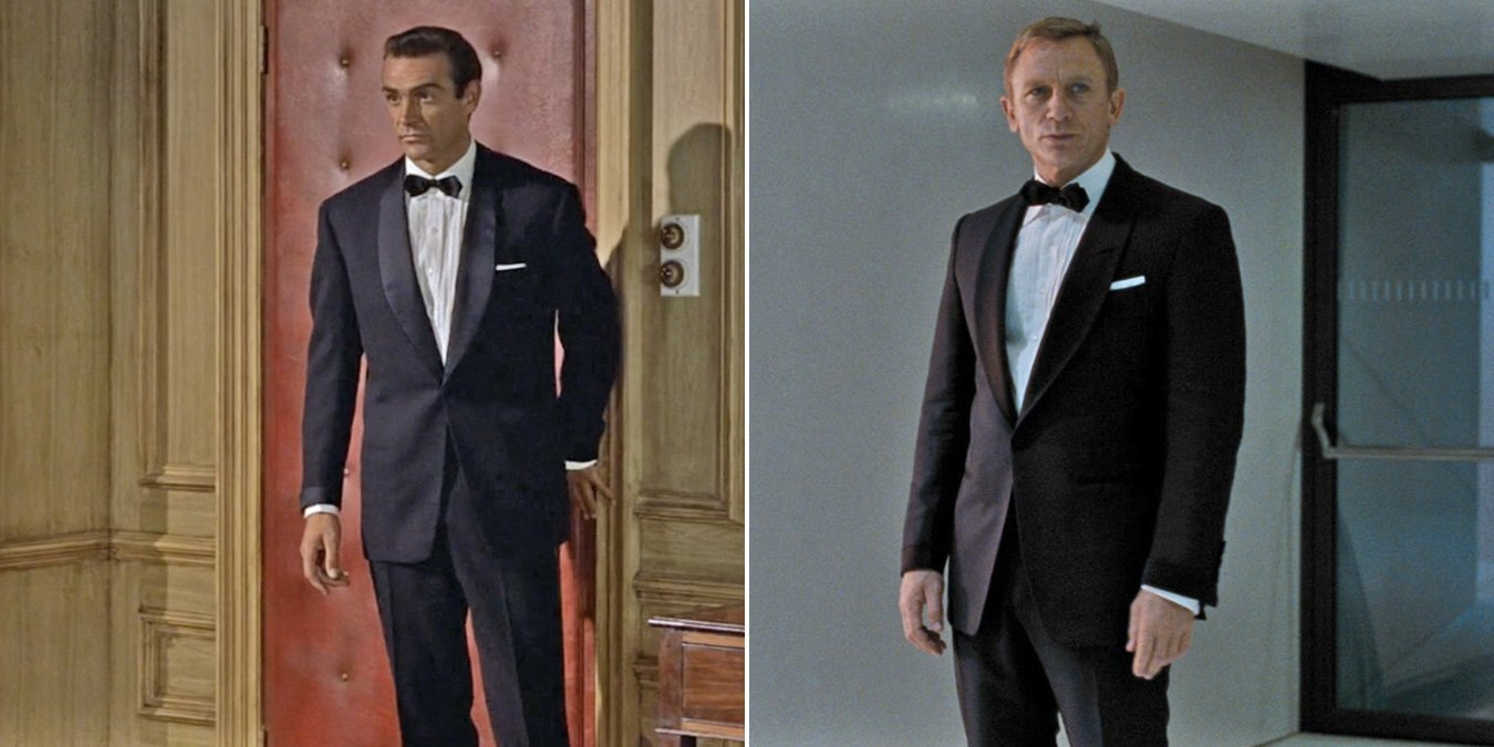 00 7 Sean Connery Bond Outfits That Daniel Craig Repurposed Bond Suits