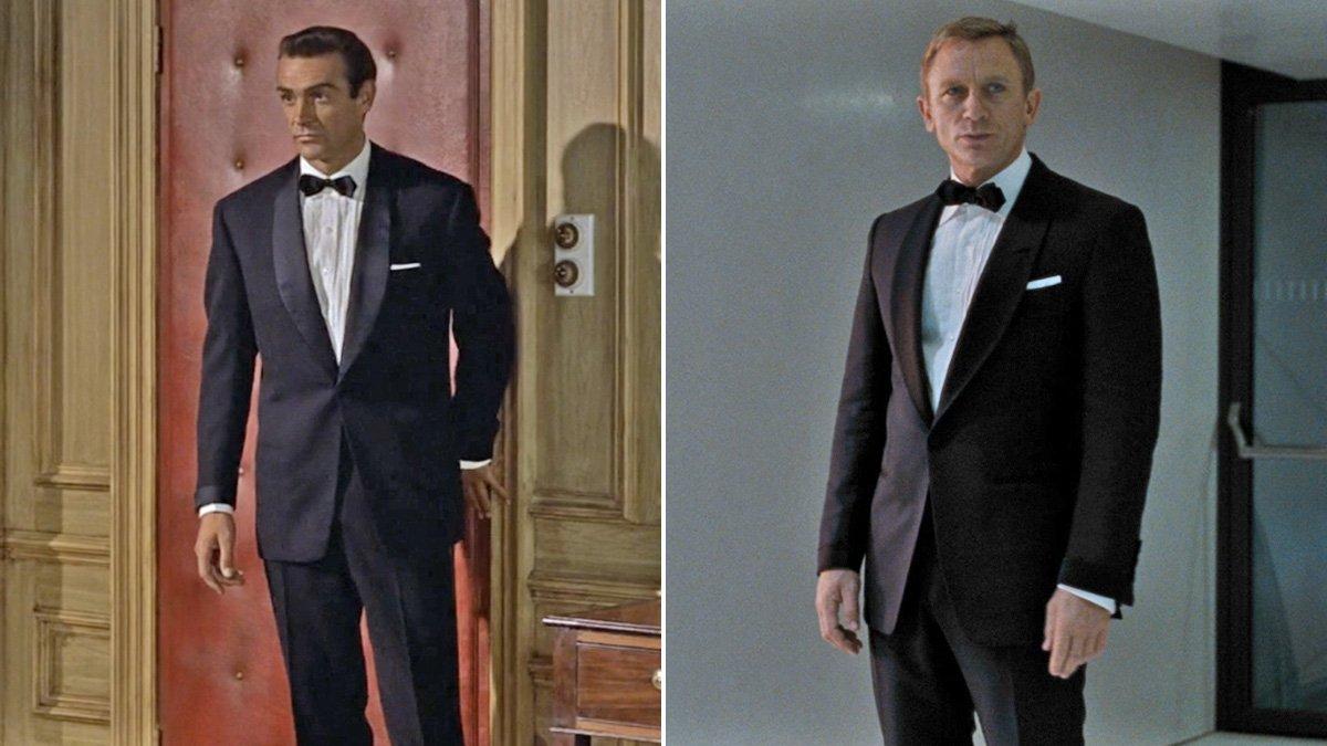 00 7 Sean Connery Bond Outfits That Daniel Craig Repurposed Bond Suits