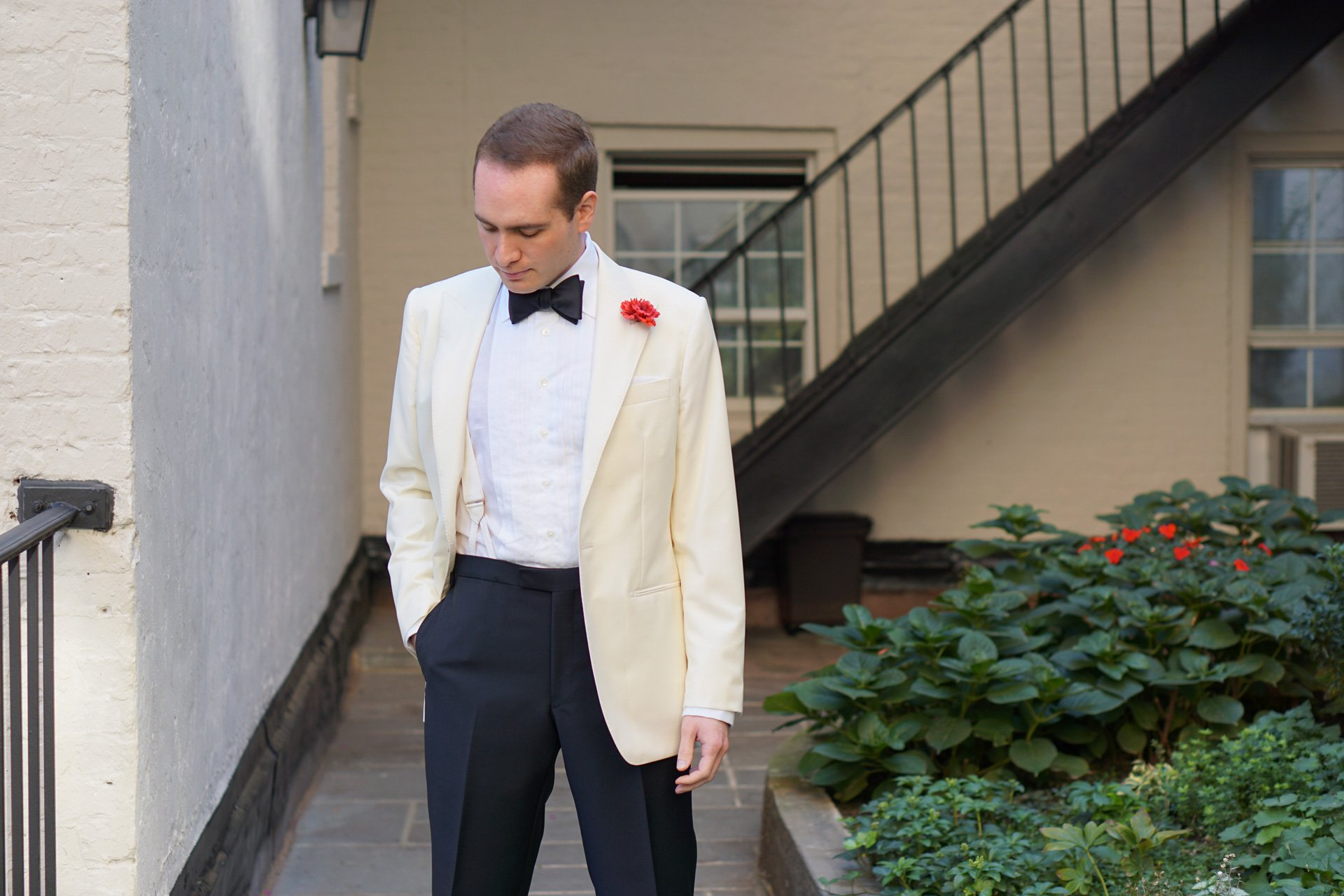 Mason & Sons Special Order Ivory Dinner Jacket – Bond Suits