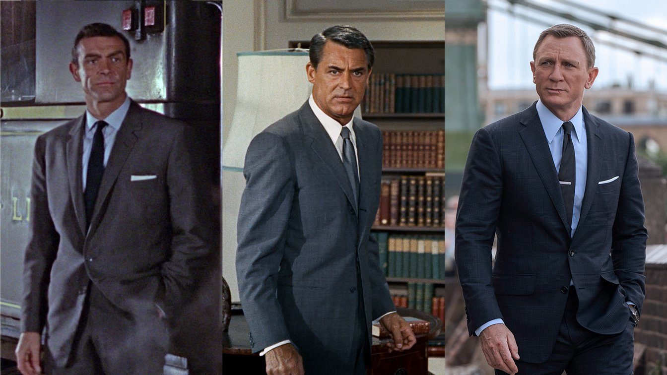 The North By Northwest Influence On James Bond Style Bond Suits