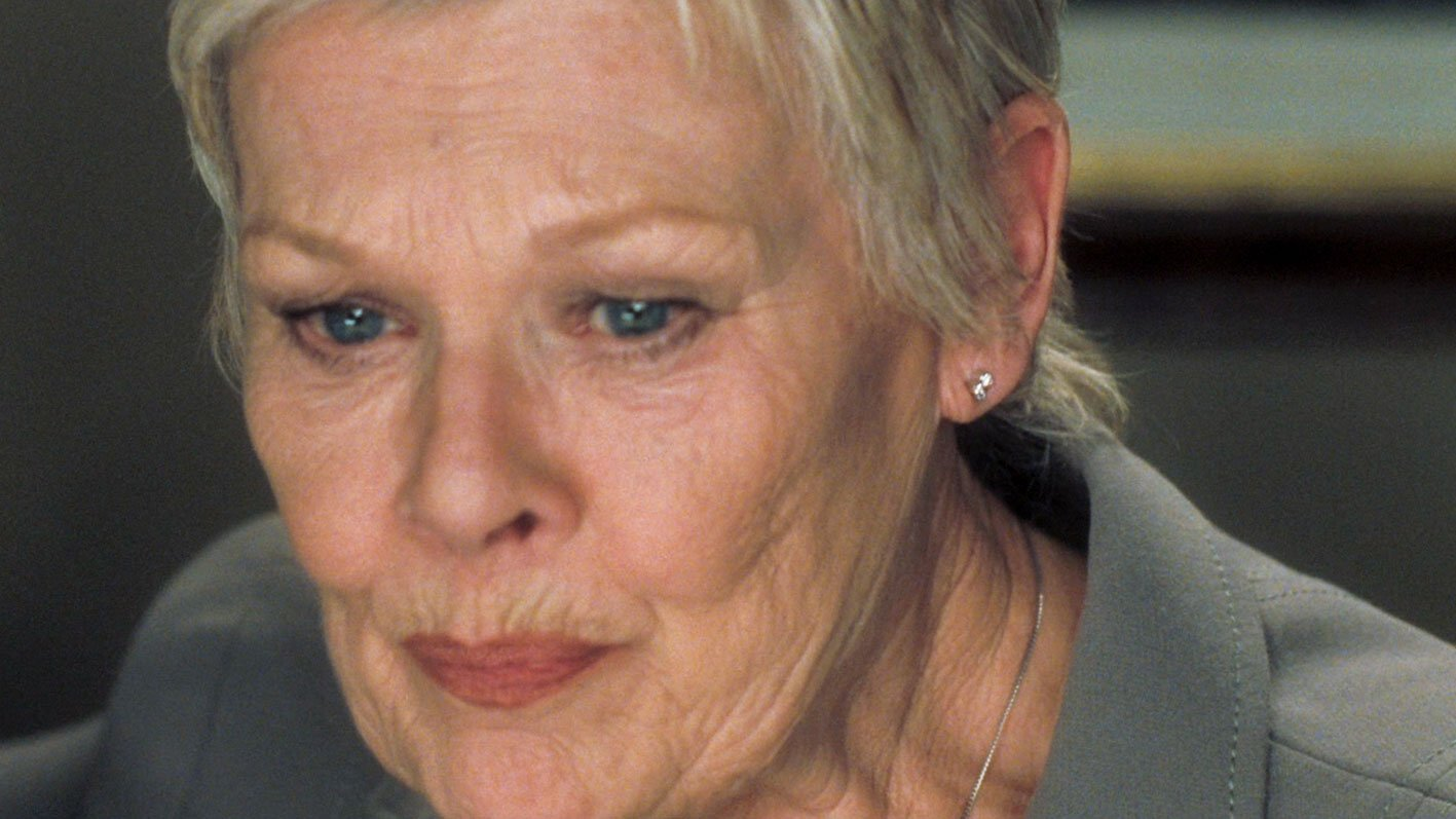 Judi Dench S Warm Grey Armani Suit For The Office In Casino Royale Bond Suits